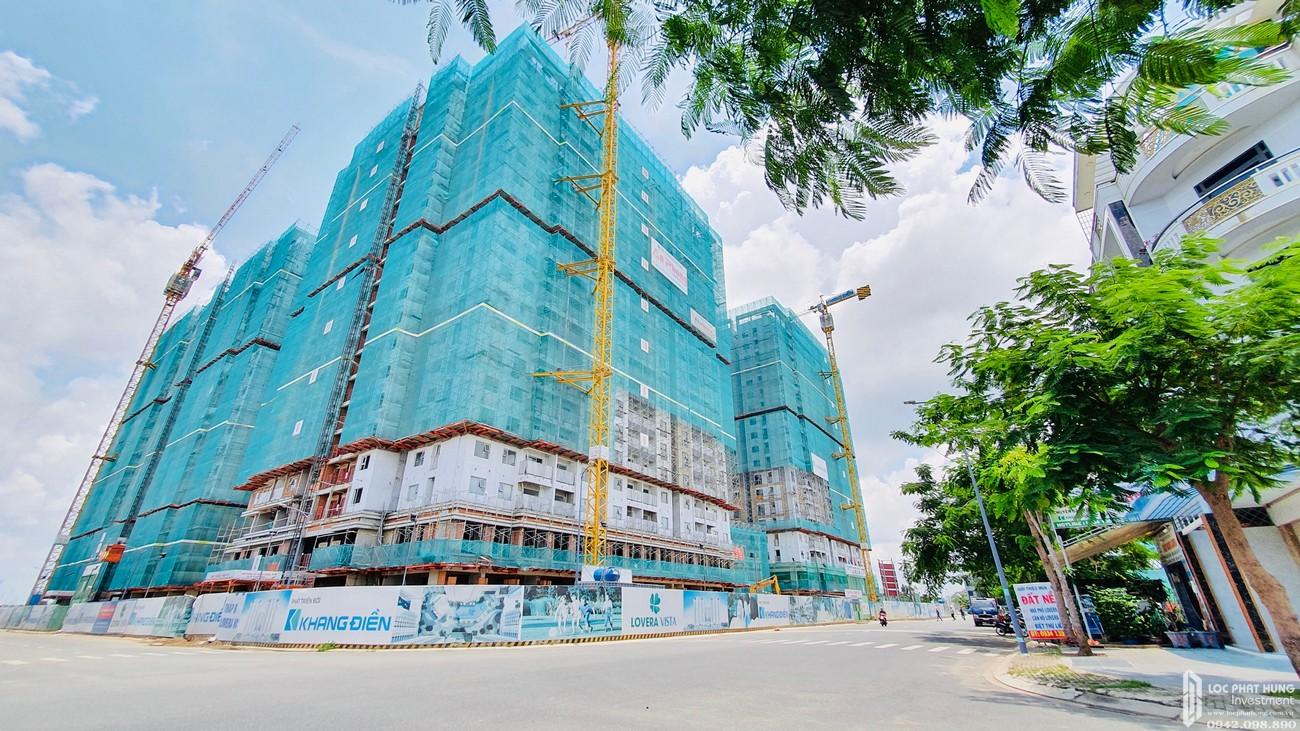 Tiến độ dự án Lovera Vista Bình Chánh Đường Trịnh Quang Nghị chủ đầu tư Khang Điền - cập nhật ngày 24/08/2020