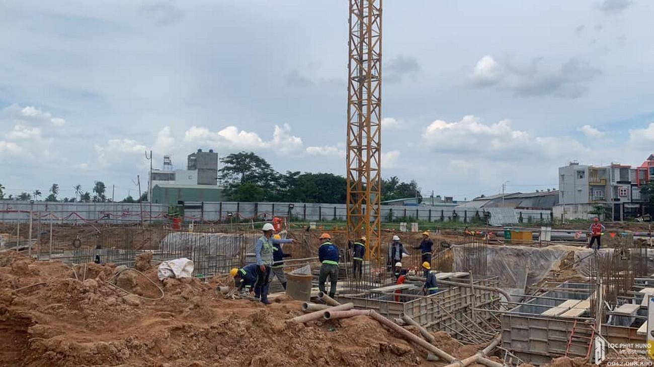 Tiến độ dự án PiCity High Park Quận 12 chủ đầu tư Pi Group - cập nhật ngày 24/08/2020