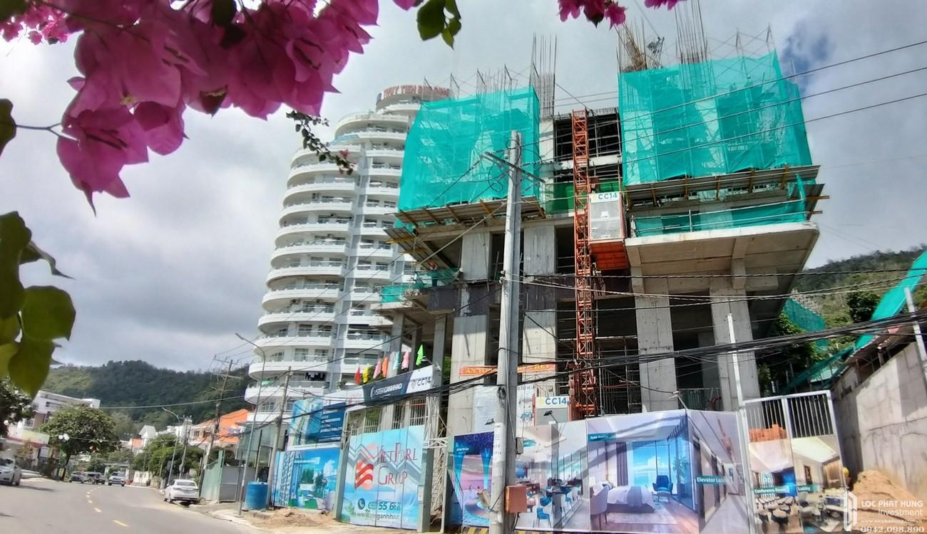 Tiến độ xây dựng dự án Condotel Oyster Gành Hào Vũng Tàu 07/2020
