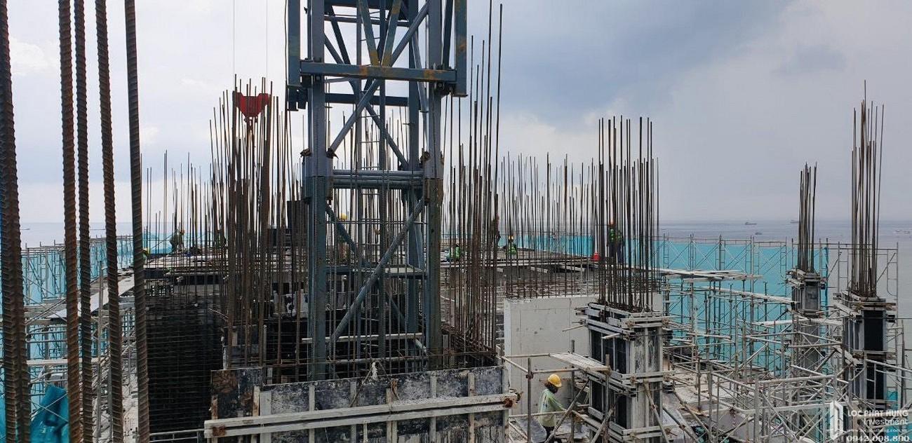 Tiến độ dự án Condotel Oyster Gành Hào Vũng Tàu chủ đầu tư Vietpearl Group tháng 08/2020