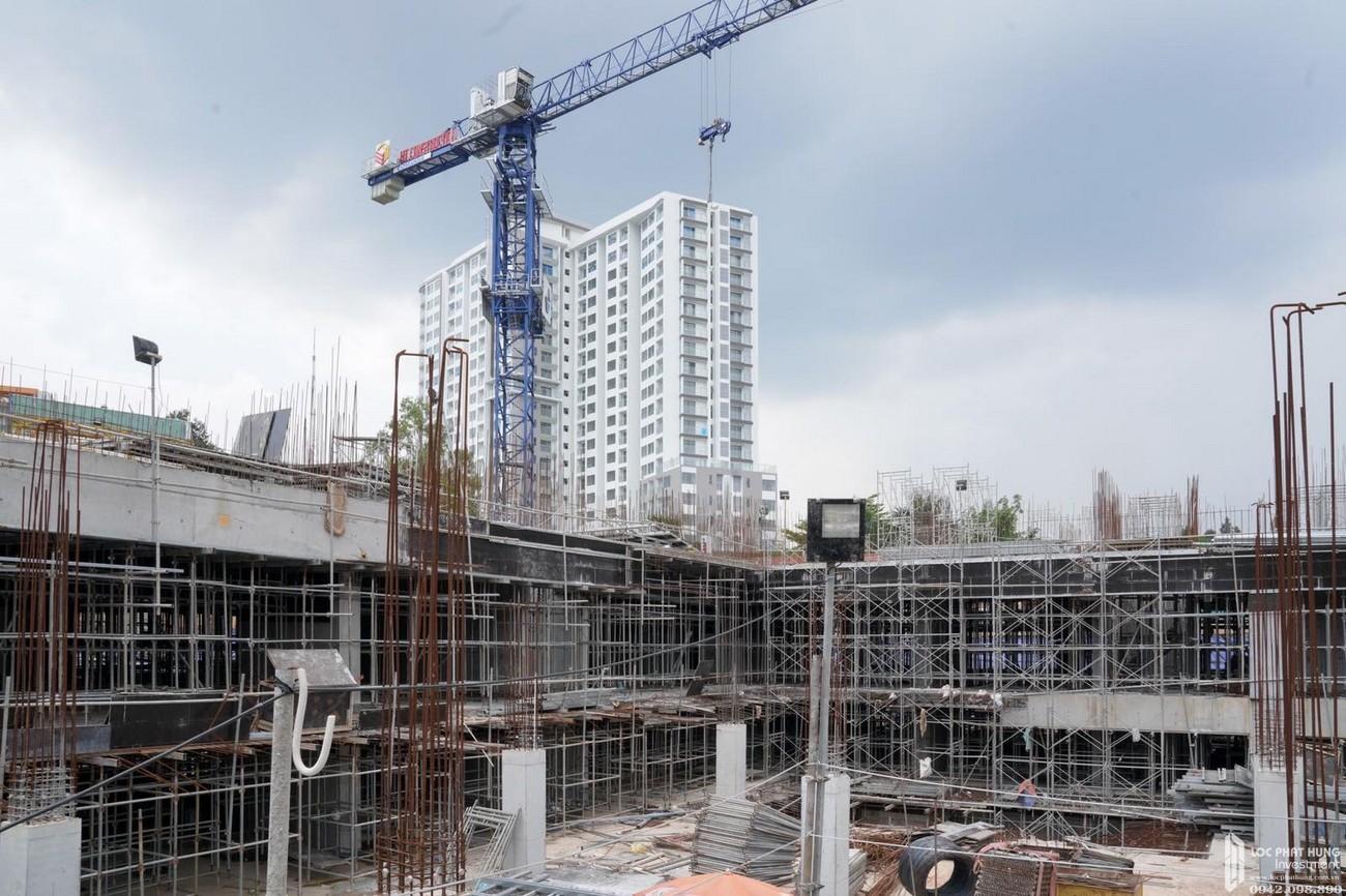 Tiến độ dự án căn hộ chung cư C Skyview Bình Dương Đường Trần Phú chủ đầu tư Quốc Cường Chánh Nghĩa ngày 28/07/2020