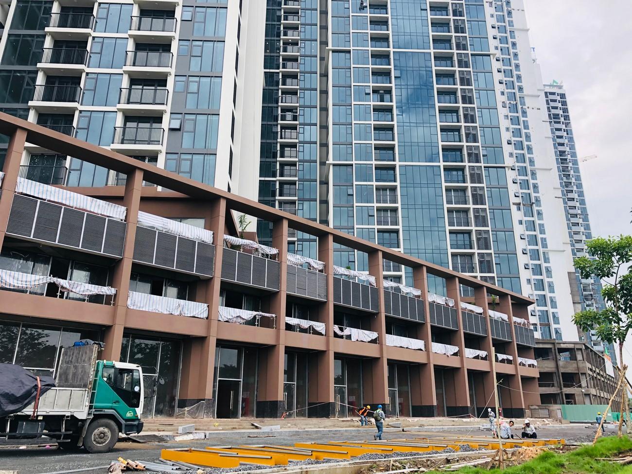 Tiến độ xây dựng dự án căn hộ Eco Green Sài Gòn 08/2020