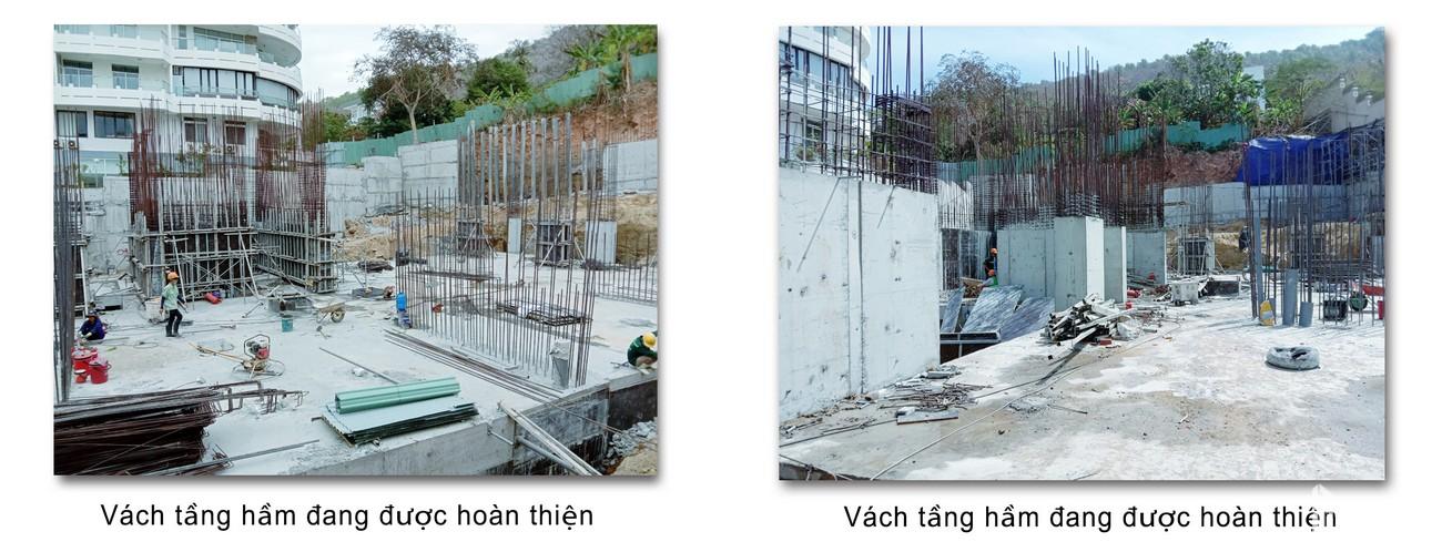 Tiến độ dự án Condotel Oyster Gành Hào Vũng Tàu chủ đầu tư Vietpearl Group cập nhật tháng 02/2020
