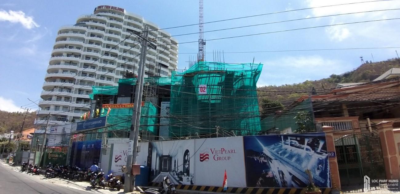 Tiến độ xây dựng dự án Condotel Oyster Gành Hào Vũng Tàu tháng 03/2020