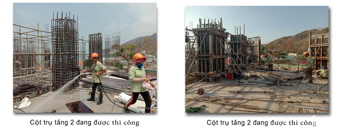 Tiến độ dự án Condotel Oyster Gành Hào Vũng Tàu chủ đầu tư Vietpearl Group cập nhật tháng 03/2020