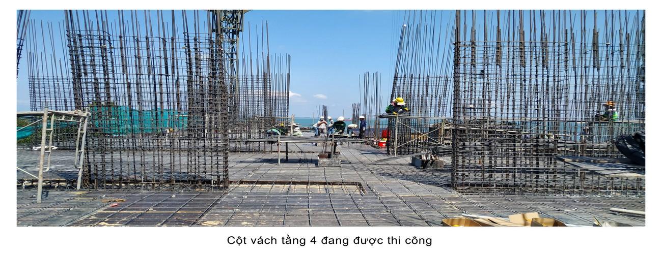 Tiến độ xây dựng dự án Condotel Oyster Gành Hào Vũng Tàu tháng 05/2020