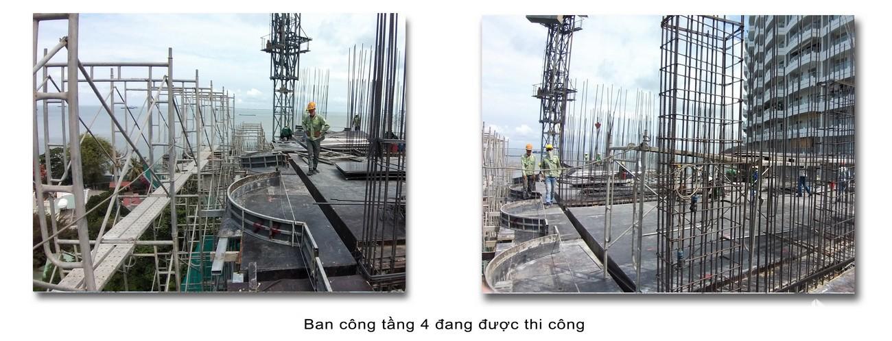 Tiến độ dự án Condotel Oyster Gành Hào Vũng Tàu chủ đầu tư Vietpearl Group cập nhật tháng 05/2020