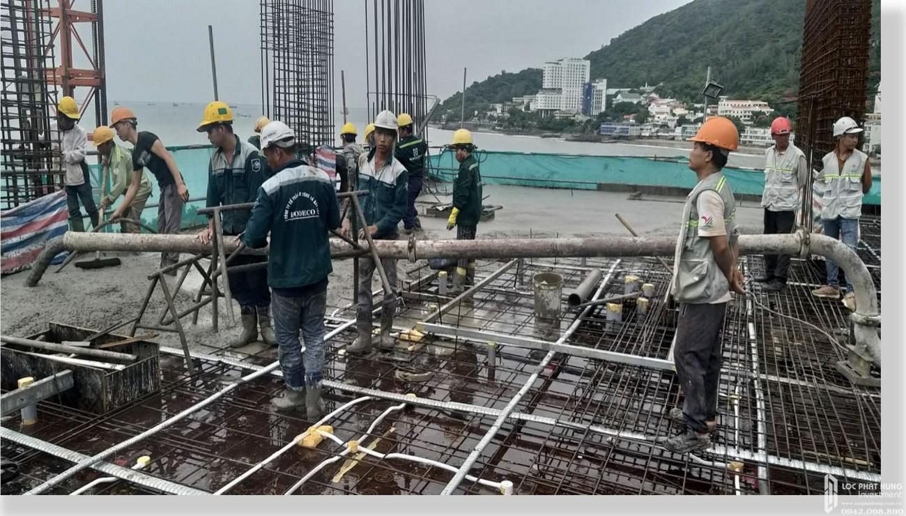 Tiến độ dự án Condotel Oyster Gành Hào Vũng Tàu chủ đầu tư Vietpearl Group cập nhật tháng 06/2020