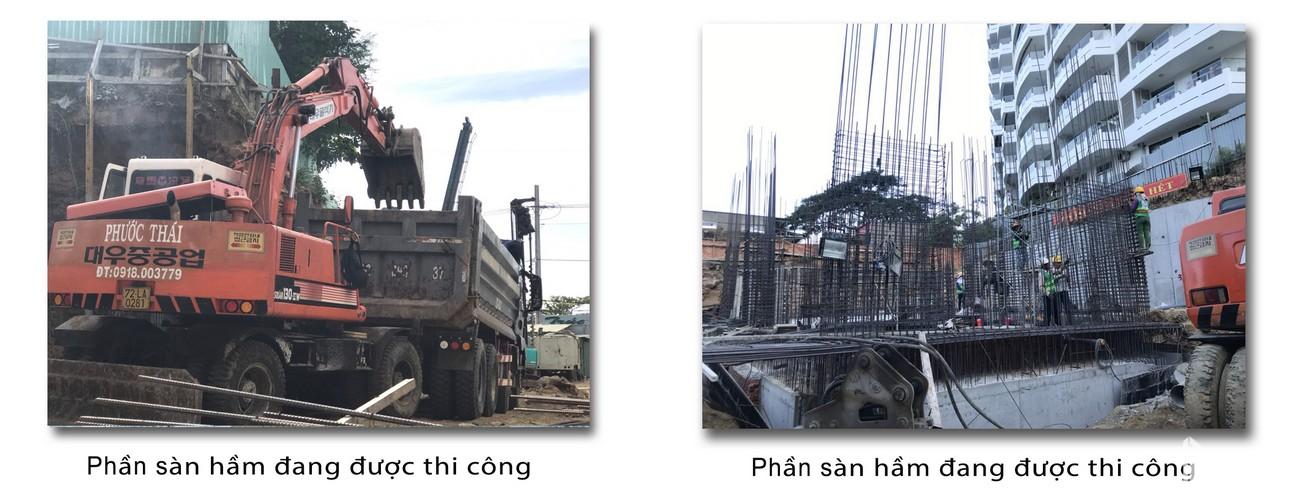 Tiến độ dự án Condotel Oyster Gành Hào Vũng Tàu chủ đầu tư Vietpearl Group cập nhật tháng 12/2019