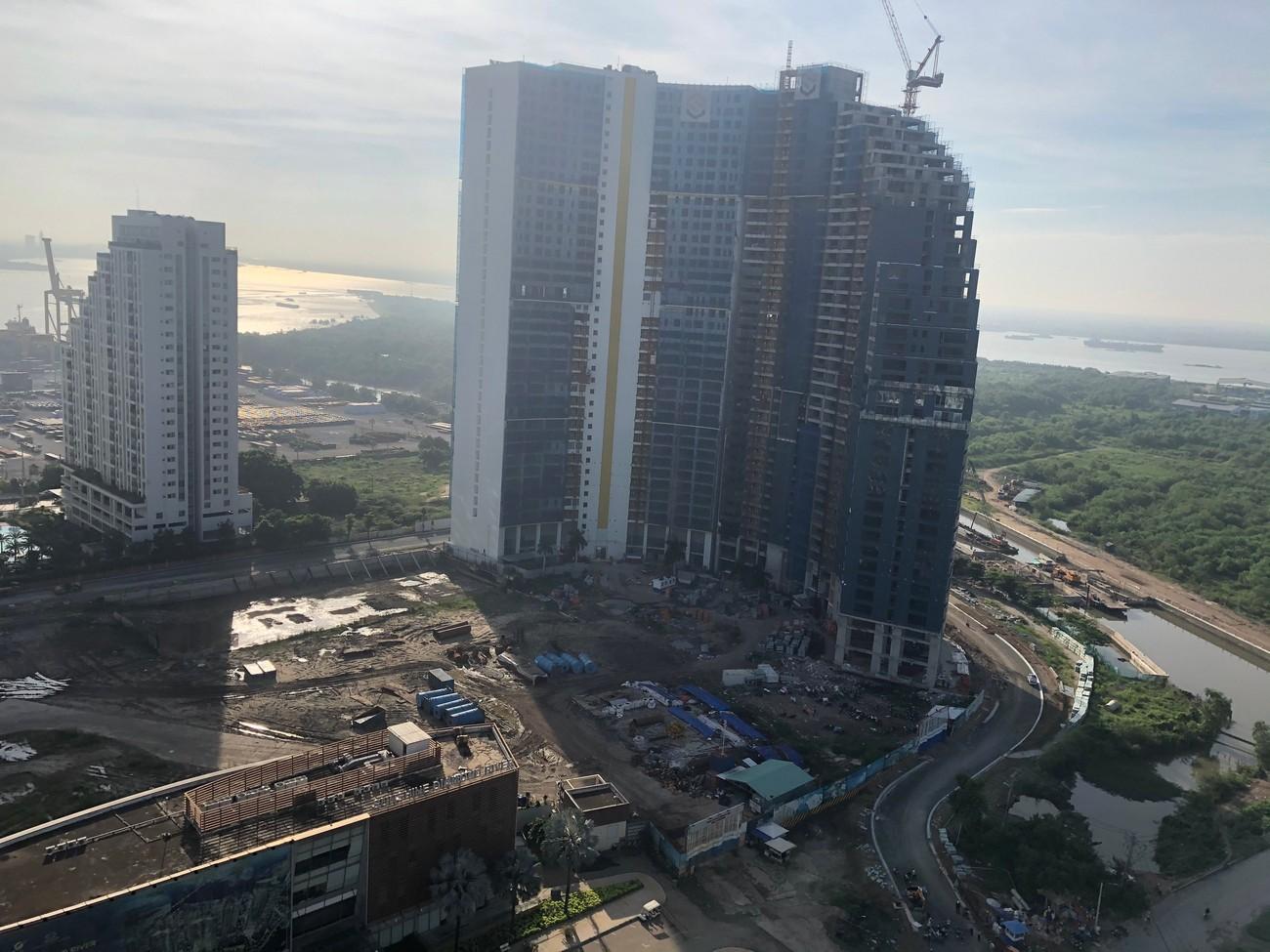 Tiến độ xây dựng dự án căn hộ chung cư Sunshine Diamond River 01/08/2020