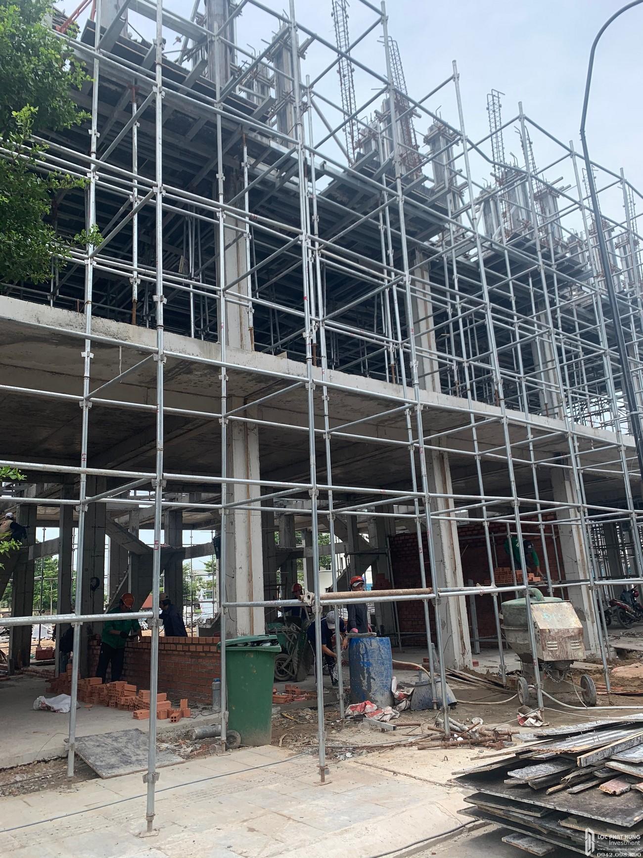 Tiến độ dự án Icon Plaza Bình Dương - cập nhật ngày 25/08/2020