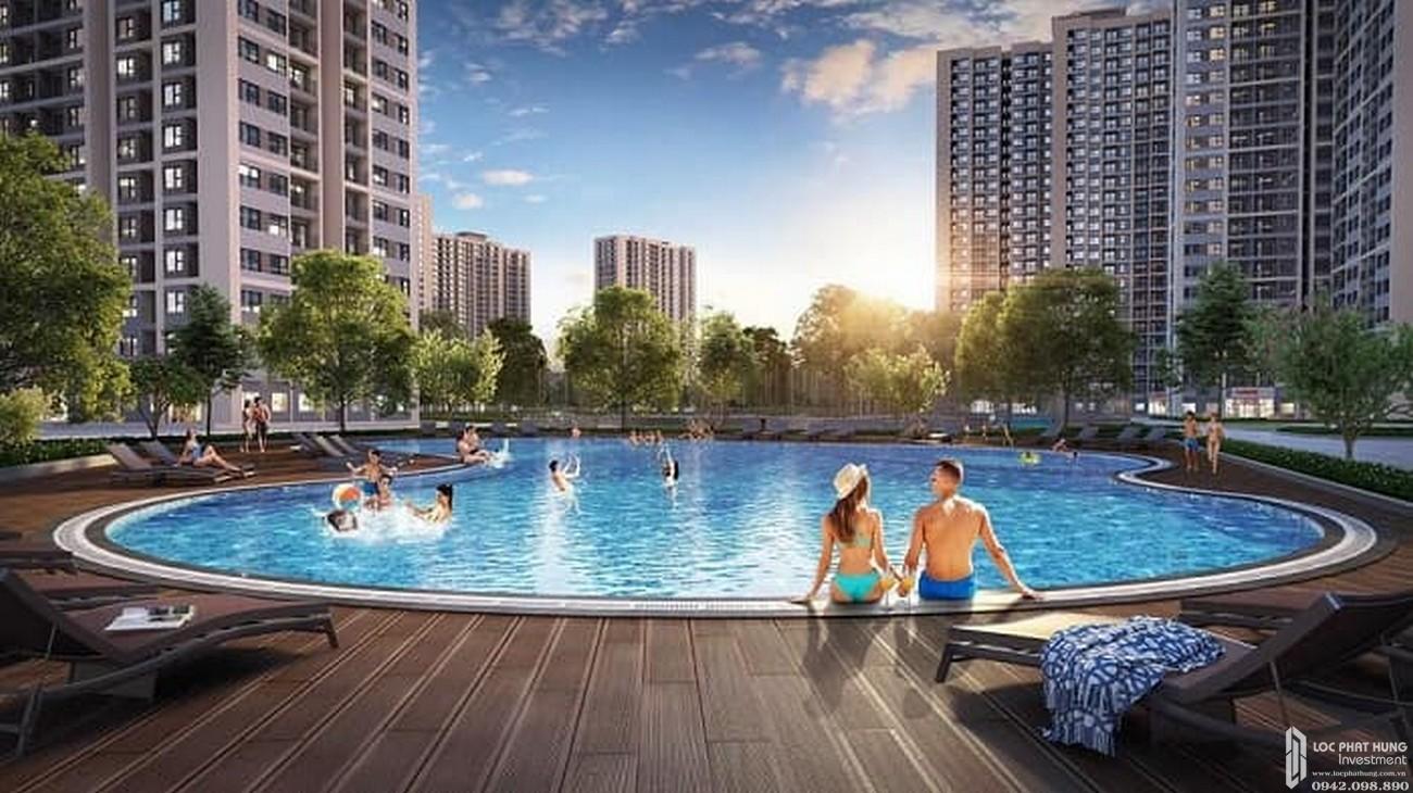 Hồ bơi Vinhomes Grand Park Quận 9 Đường Nguyễn Xiển chủ đầu tư Vingroup