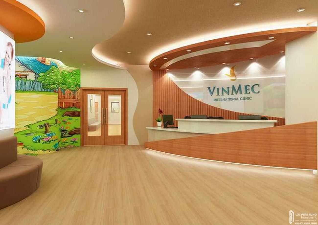 Không gian phòng khám bệnh viện đa khoa Vinmec