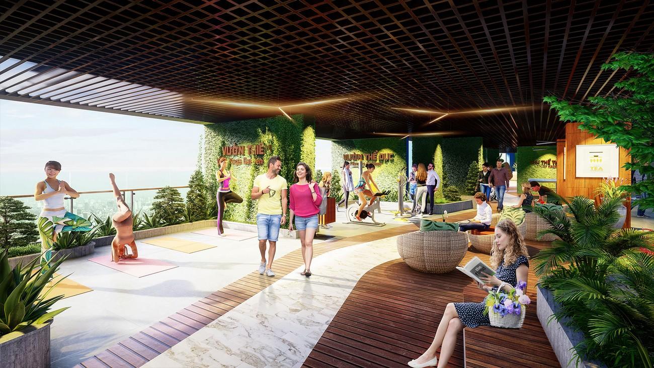 Tiện ích dự án căn hộ chung cư Sunshine Crystal River Quận Tây Hồ KĐT Ciputra chủ đầu tư Sunshine Group