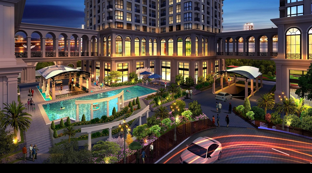 Tiện ích dự án căn hộ chung cư Sunshine Riverside Quận Tây Hồ KĐT Ciputra chủ đầu tư Sunshine Group