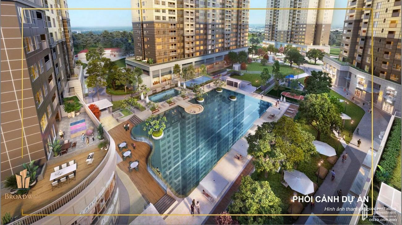 Tiện ích dự án căn hộ chung cư Sài Gòn Broadway Quận 2 Đường  Mai Chí Thọ chủ đầu tư Novaland