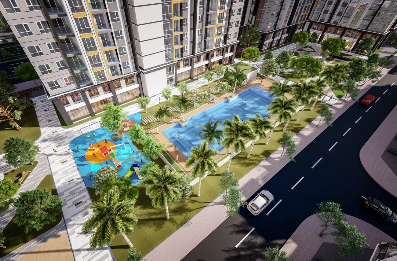 Tiện ích dự án căn hộ chung cư City Gate 5 Bình Chánh Đường Hưng Nhơn chủ đầu tư NBB
