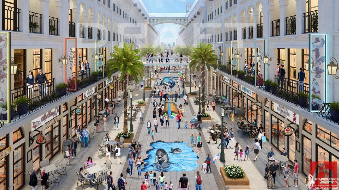 Tiện ích dự án căn hộ shophouse  D One Saigon Gò Vấp chủ đầu tư DHA Corp