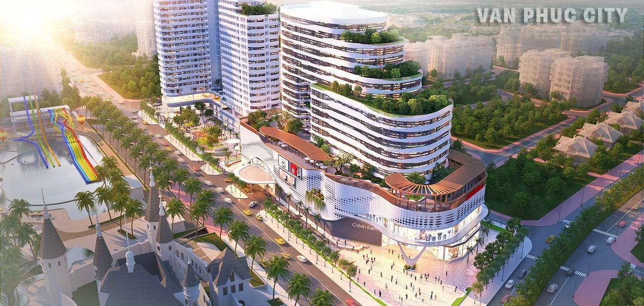 Tiện ích dự án Khu Đô Thị Vạn Phúc City Quận Thủ Đức Đường Quốc lộ 13 chủ đầu tư Vạn Phúc Group