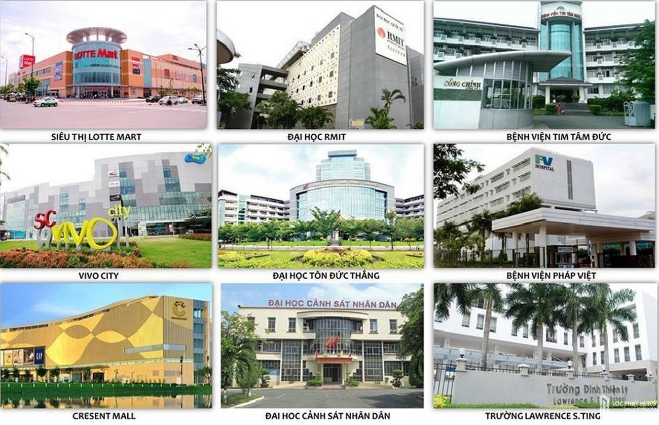 Tiện ích ngoại khu dự án căn hộ chung cư Mizuki Park Bình Chánh Đường Nguyễn Văn Linh chủ đầu tư Nam Long