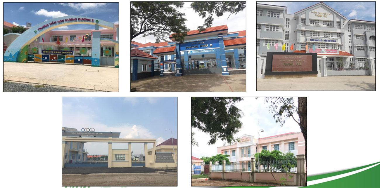 Tiện ích ngoại khu dự án nhà phố Lovera Premier Khang Điền Bình Chánh