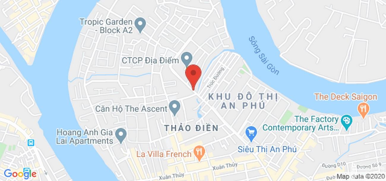 Vị trí địa chỉ dự án căn hộ chung cư Thảo Điền Green Towers Quận 2 chủ đầu tư SIC