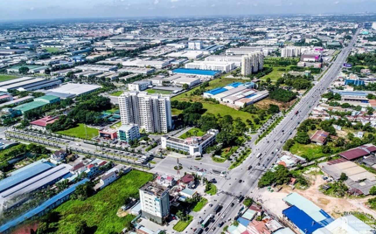 Vị trí địa chỉ dự án căn hộ chung cư Opal Central Park Thuận An chủ đầu tư Đất Xanh Group