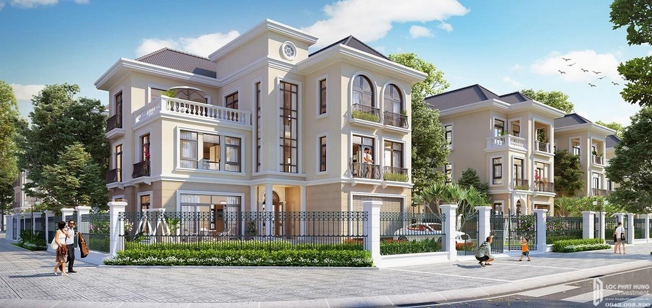 Thiết kế dự án nhà phố The Manhattan Glory Quận 9 Đường Nguyễn Xiển chủ đầu tư Vingroup