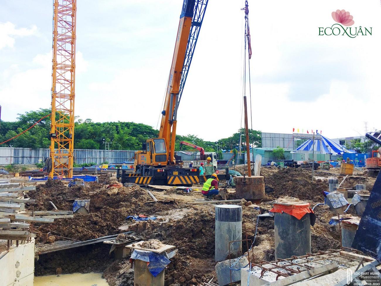 Tiến độ dự án Căn Hộ chung cư  EcoXuan Block C Lái Thiêu Đường Quốc Lộ 13 chủ đầu tư SP Setia Malaysia