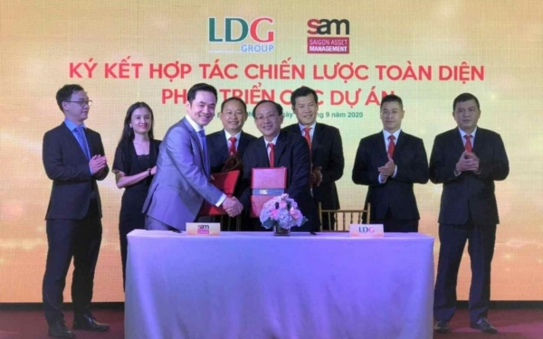 Hợp tác quỹ S.A.M kết nối tài chính cho LDG Group đầu tư 5 dự án 61,000 tỷ đồng