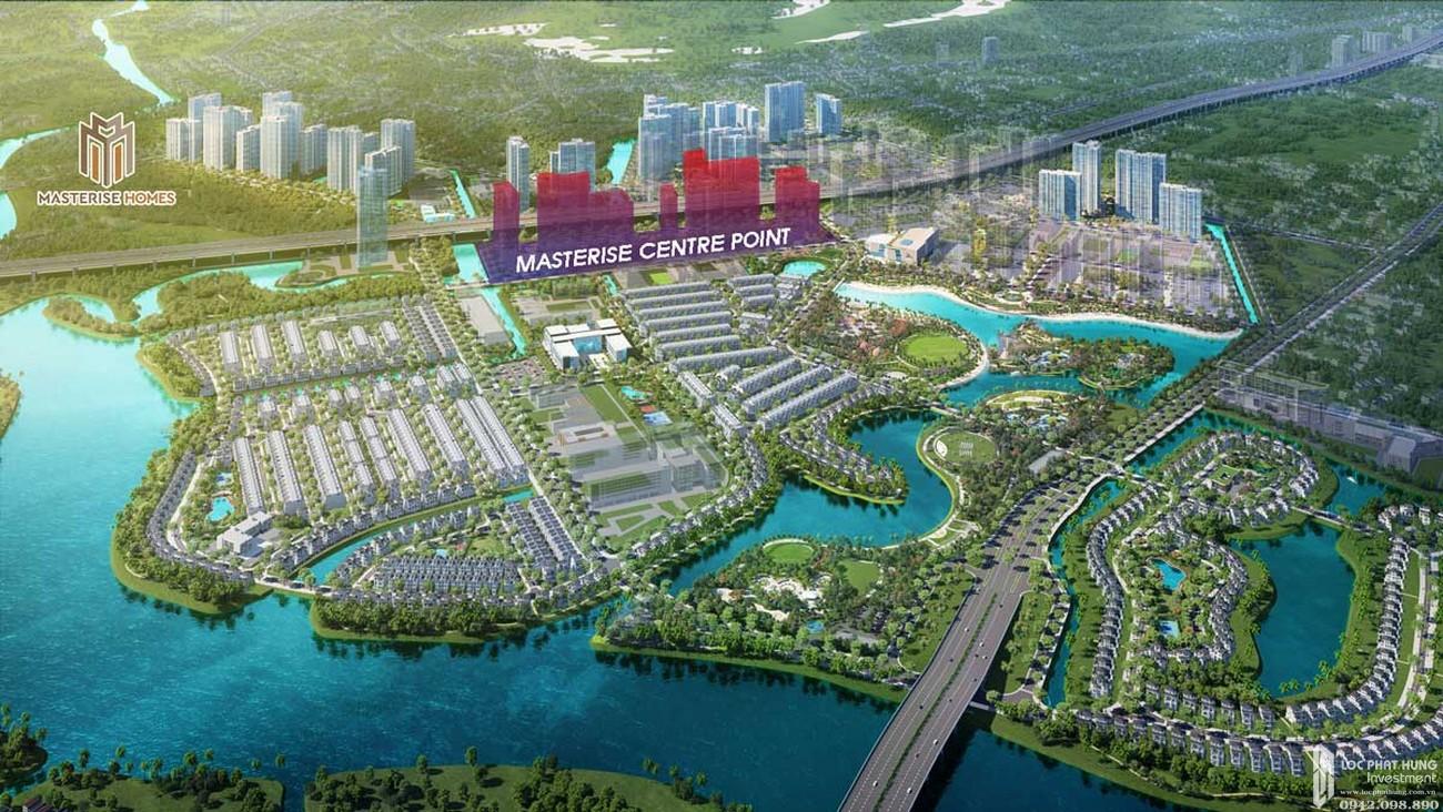 Nhà mẫu dự án căn hộ chung cư  Masterise Centre Point  Quận 9 Đường Nguyễn Xiển chủ đầu tư Vingroup
