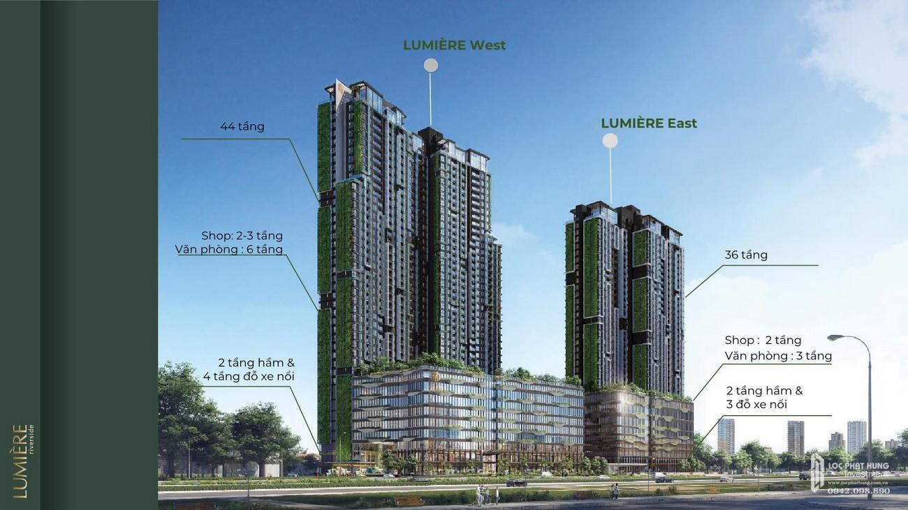 Dự án căn hộ chung cư Masteri Lumière Riverside Quận 2 Đường Xa Lộ Hà Nội