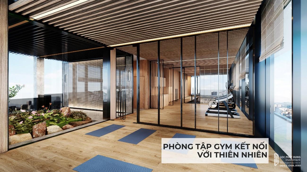 Phòng tập Gym dự án căn hộ chung cư Masteri Lumière Riverside Quận 2 Đường Xa Lộ Hà Nội chủ đầu tư Masterise Homes