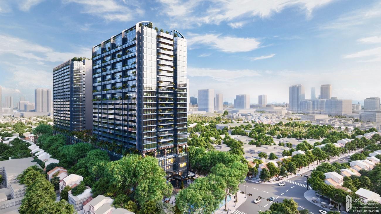 Phối cảnh dự án căn hộ chung cư Sunshine Continental Quận 10 Đường Tô Hiến Thành chủ đầu tư Sunshine Group