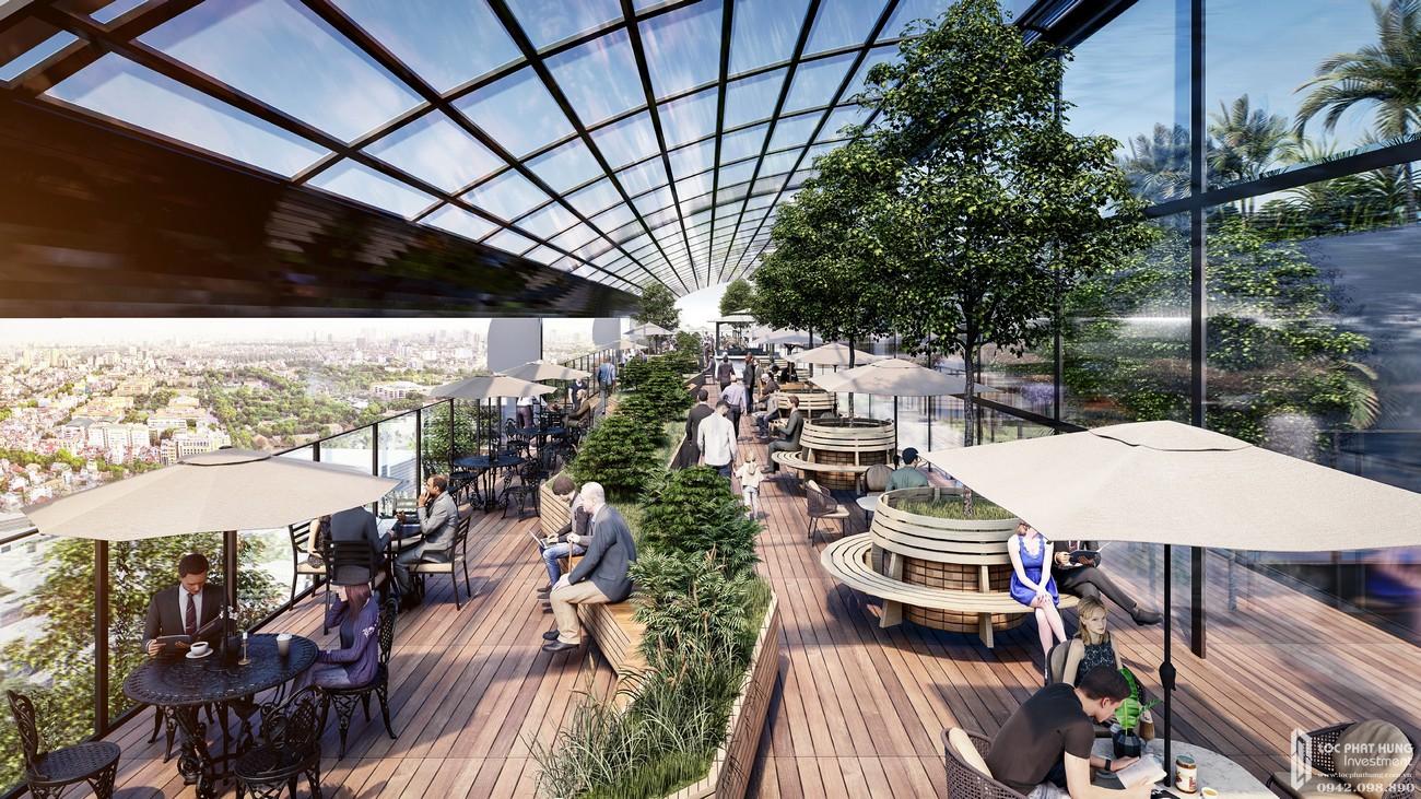 Tầng thượng dự án căn hộ chung cư Sunshine Continental Quận 10 Đường Tô Hiến Thành chủ đầu tư Sunshine Group