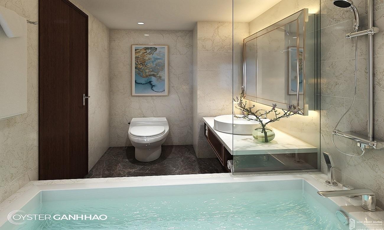 Nhà mẫu dự án căn hộ Condotel Oyster Gành Hào Vũng Tàu chủ đầu tư Vietpearl Group
