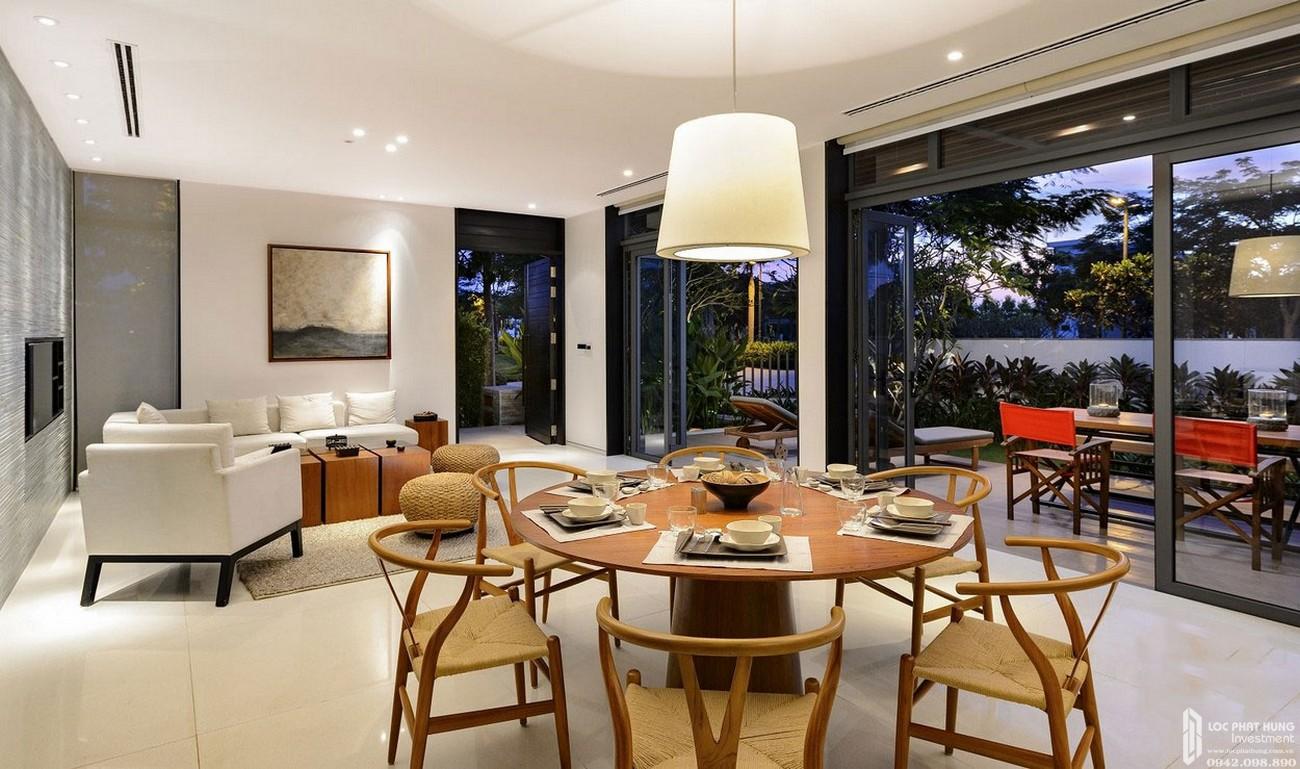 Phòng khách dự án căn hộ chung cư King Crown Thủ Đức Đường Võ Văn Ngân chủ đầu tư Gia Khang