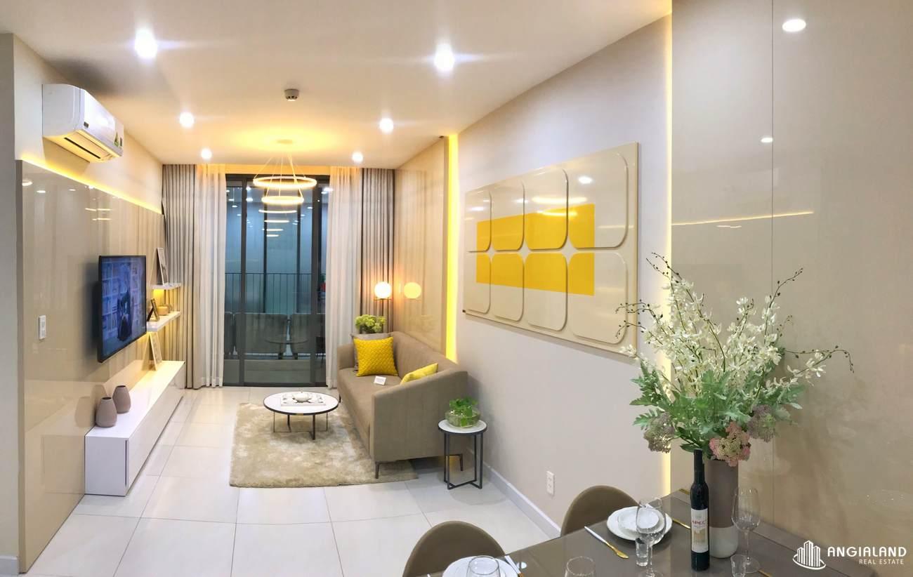Nhà mẫu căn hộ Ricca Quận 9 diện tích 56m2