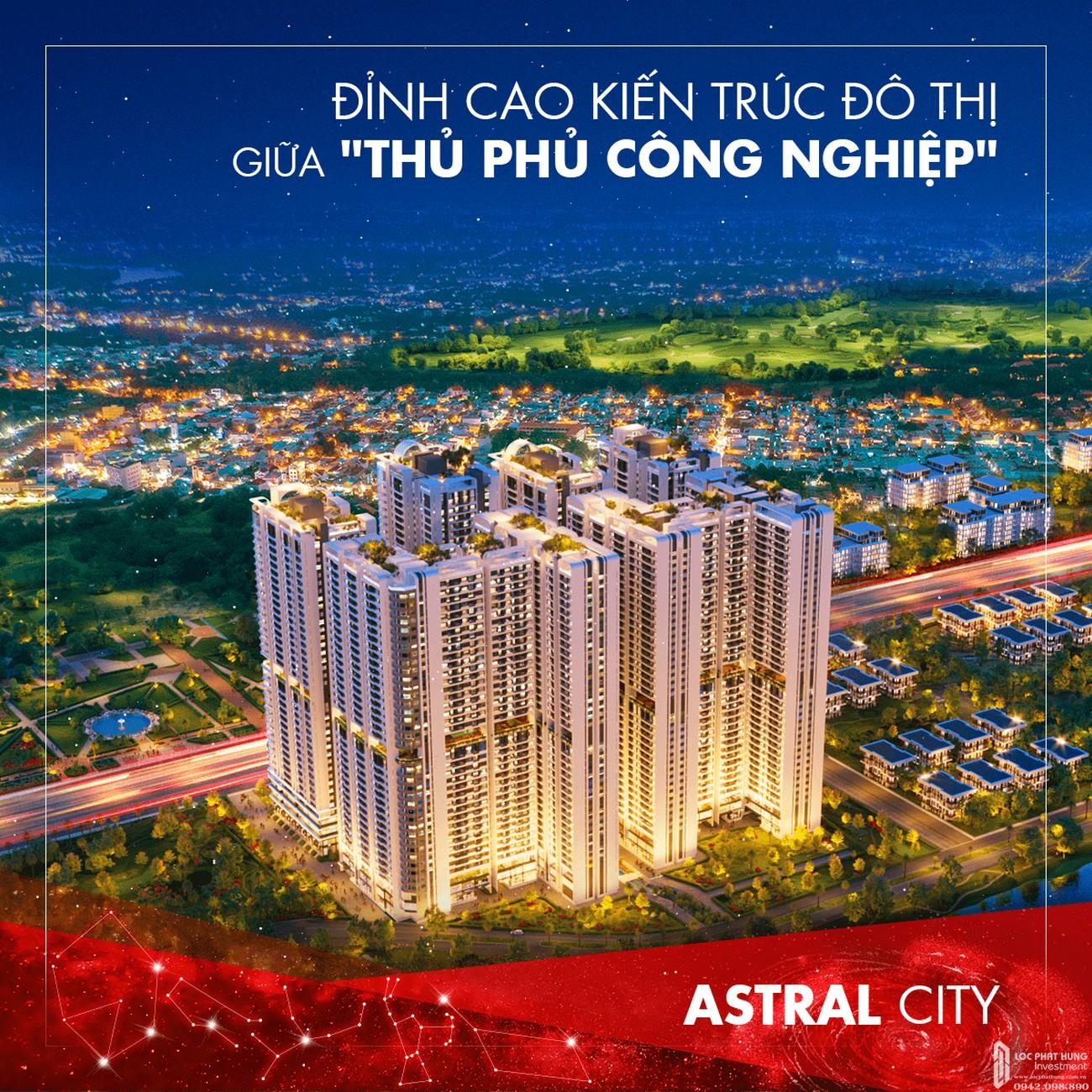 Những ưu điểm vượt trội đưa dự án căn hộ Astral City thành tâm điểm Bình Dương