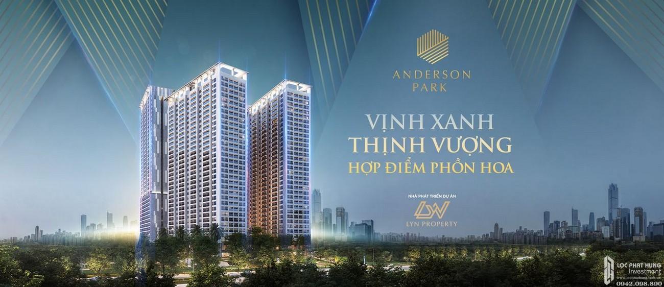 Phối cảnh tổng thể dự án căn hộ chung cư Anderson Park Thuận An Đường Quốc lộ 13 chủ đầu tư Quốc Cường Gia Lai