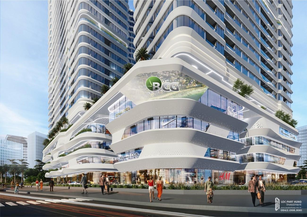 Phối cảnh tổng thể dự án căn hộ chung cư King Crown Center Thủ Đức Đường Võ Văn Ngân chủ đầu tư Gia Khang