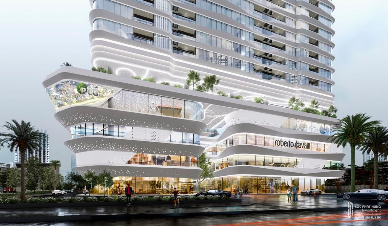 Phối cảnh tổng thể dự án căn hộ chung cư King Crown Infinity Thủ Đức Đường Võ Văn Ngân chủ đầu tư Gia Khang