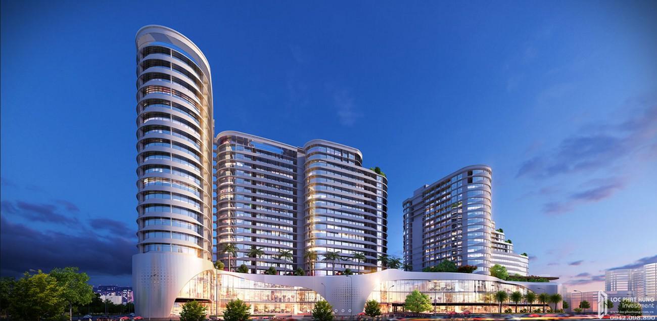 Phối cảnh Trung tâm thương mại căn hộ Vạn Phúc Riverside Quận Thủ Đức Đường Quốc lộ 13 chủ đầu tư Vạn Phúc Group