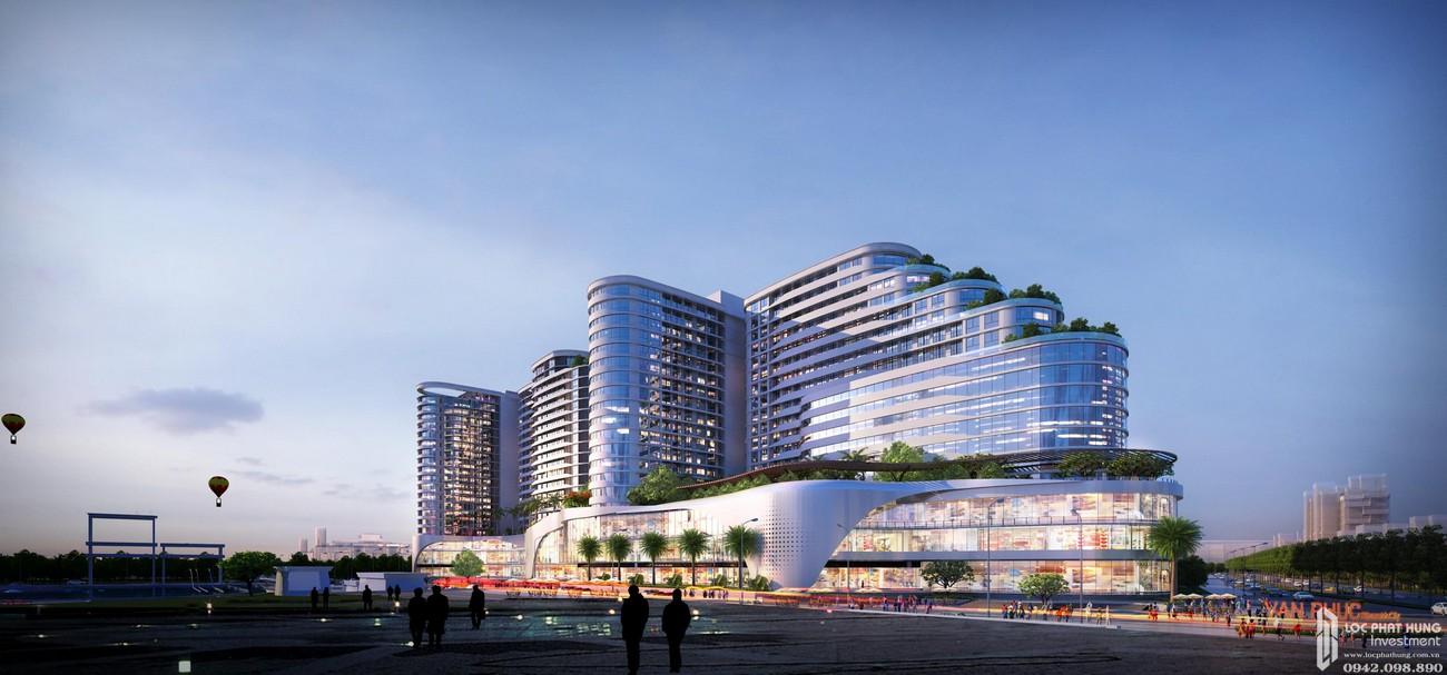 Trung tâm thượng mại quốc tế – tòa phức hợp Vạn Phúc Riverside Tower