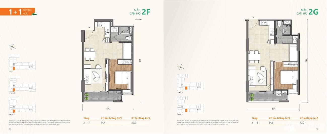 Thiết kế chi tiết căn hộ chung cư Ricca Quận 9