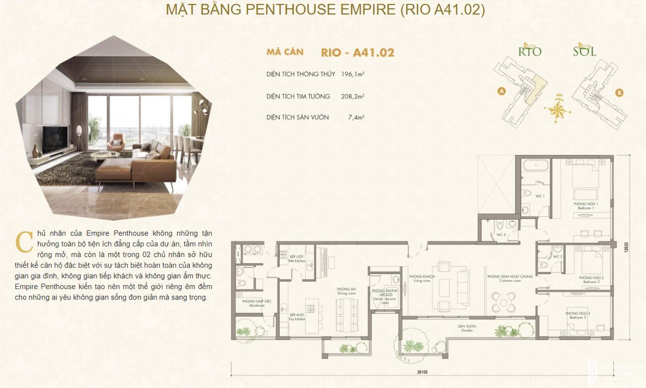 Thiết kế dự án căn hộ chung cư Masteri An Phú Quận 2 Đường 179 Xa lộ Hà Nội chủ đầu tư Masterise Homes