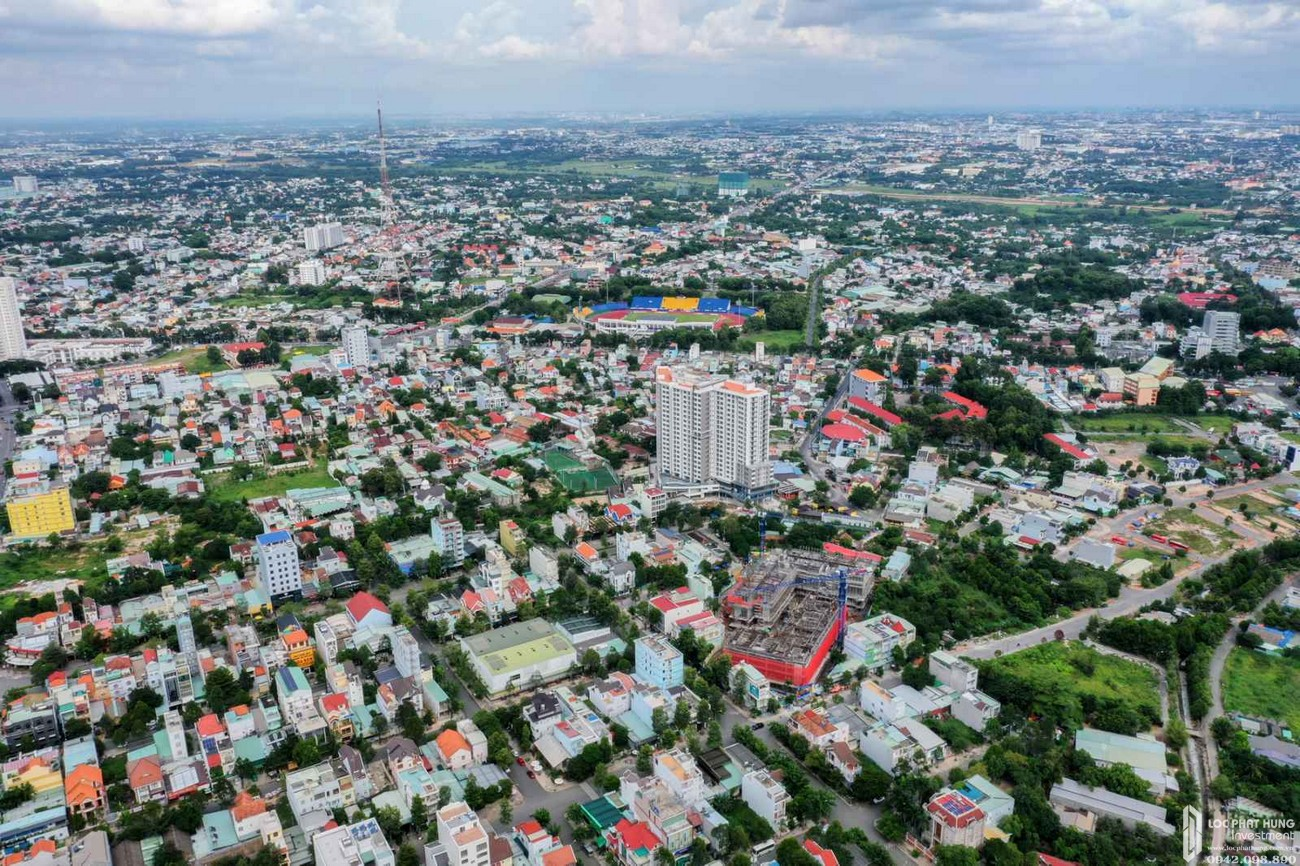 Tiến độ dự án căn hộ chung cư C Skyview tháng 9/2020  Bình Dương Đường Trần Phú chủ đầu tư Quốc Cường Chánh Nghĩa