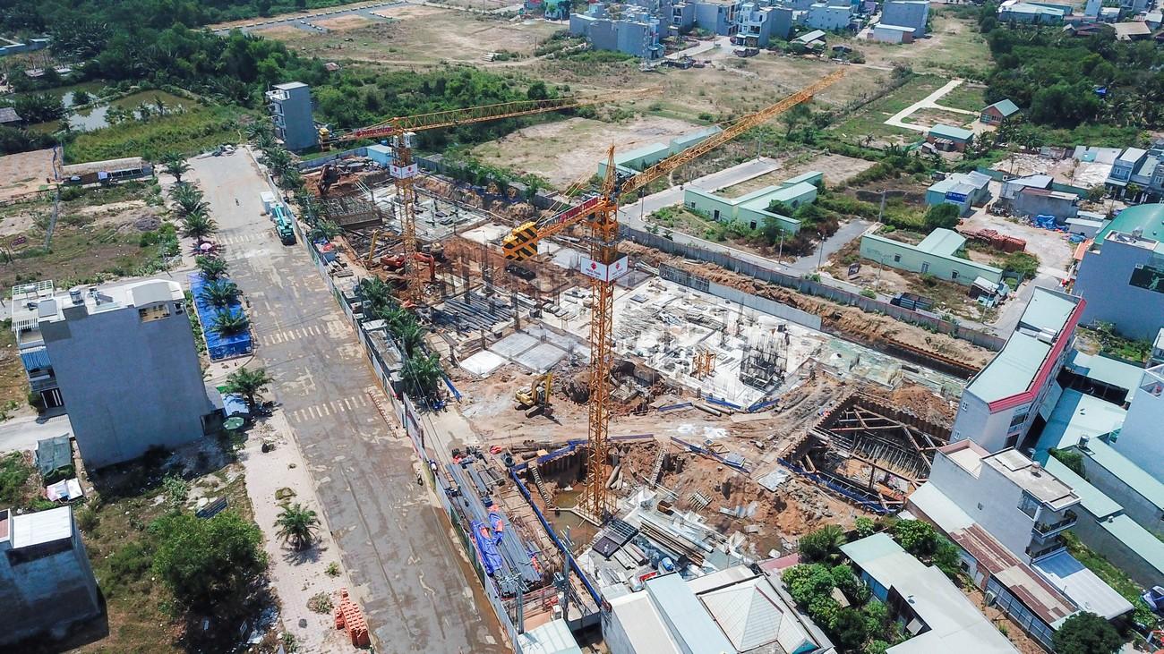 Tiến độ xây dựng dự án căn hộ Ricca Quận 9 – 05/2020