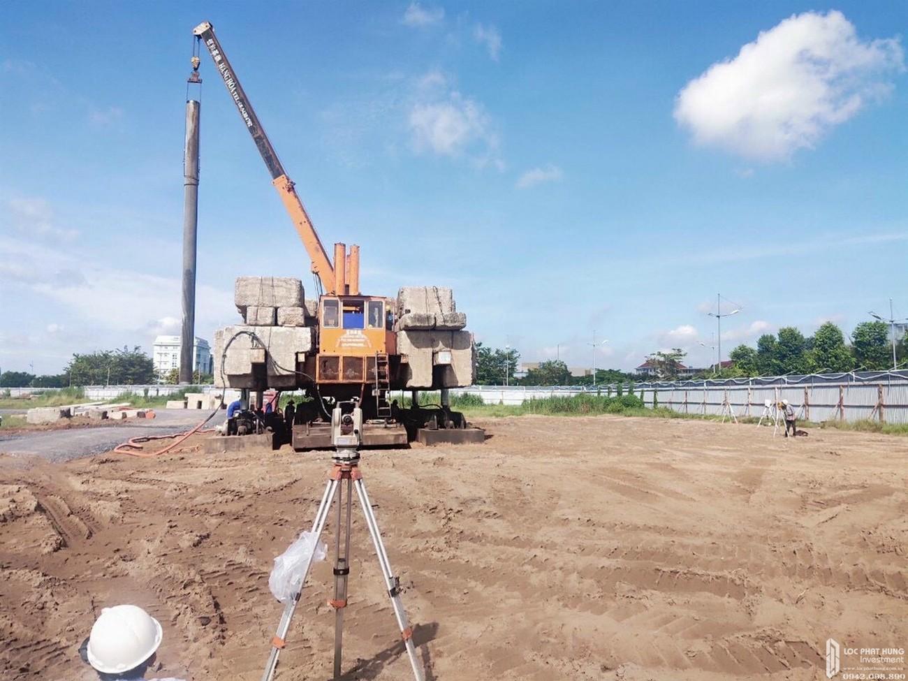 Tiến độ xây dựng dự án căn hộ West Gate Bình Chánh tháng 09/2020