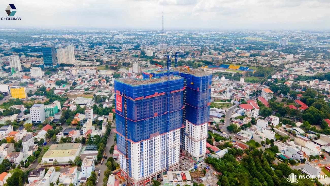 Tiến độ xây dựng C Skyview tháng 07/2021